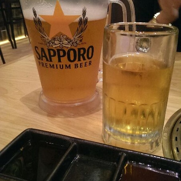 Sapporo Beer - Gyu-Kaku - Brea, Brea, CA