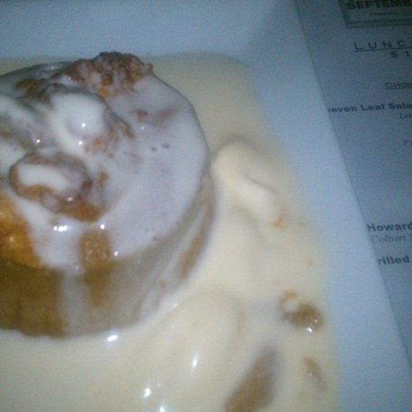 Pumpkin Bread Pudding - Polo Grill, Tulsa, OK