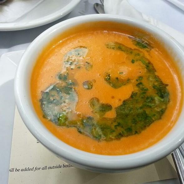 Blue Cheese Tomato Bisque - Sage Restaurant - Tallahassee, Tallahassee, FL