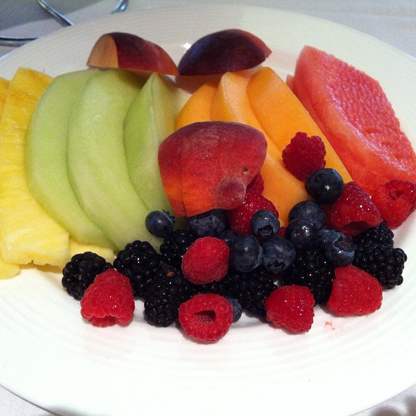 Fruit Plate - Breeze Restaurant, Los Angeles, CA