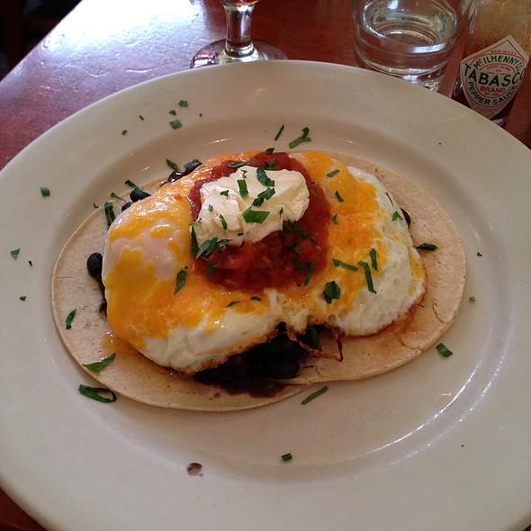 Huevos rancheros - Cornelia Street Cafe, New York, NY