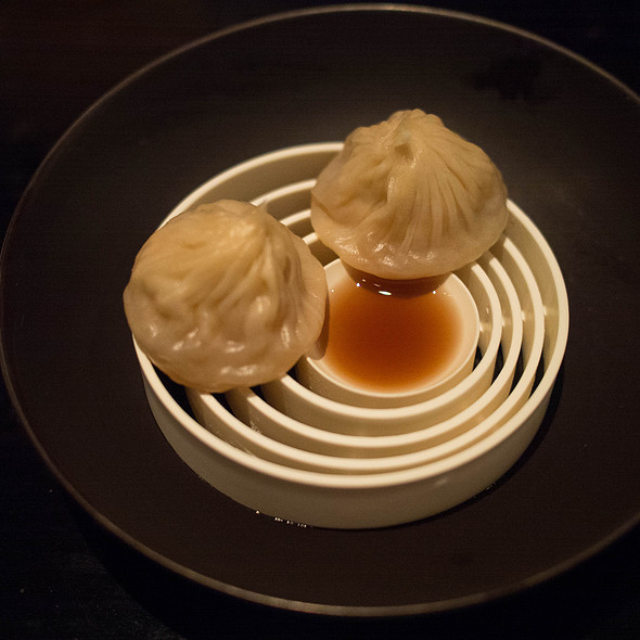 Lobster coral xiao long bao - Benu, San Francisco, CA
