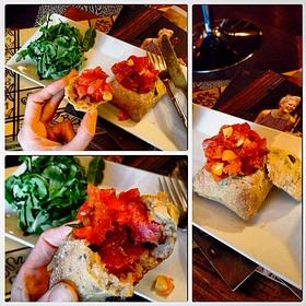 Pain Bagnat Stuffed With Ahi Tuna Salad - Rouge, Miami Beach, FL