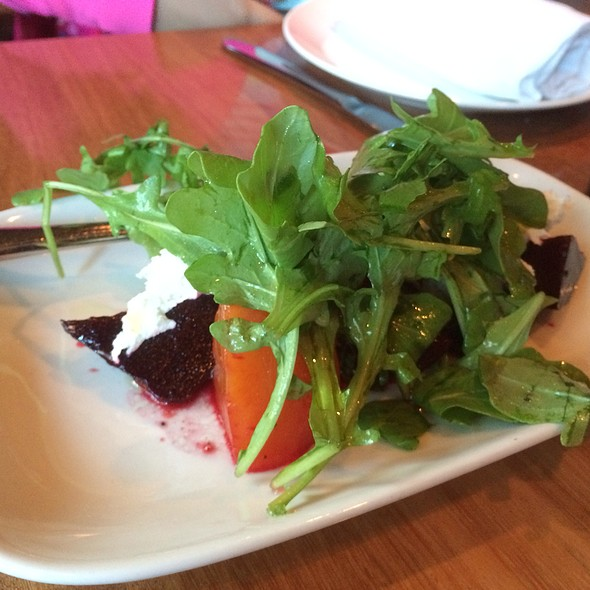 Beet Salad With Goat Cheese Mint And Basil - CHARCUT, Calgary, AB