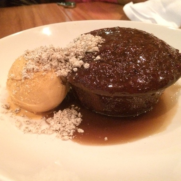 Sticky Toffee Pudding - CHARCUT, Calgary, AB
