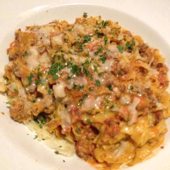 Tagliatelle Bolognese - The Corner Office Restaurant and Martini Bar Denver, Denver, CO