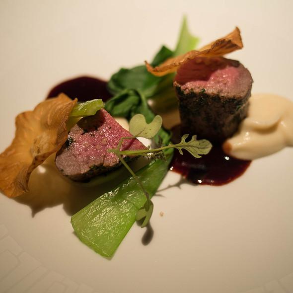 Loin of Beef, Celeriac Puree, Juniper - Baume Restaurant, Palo Alto, CA