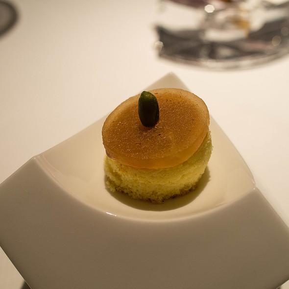 Citron Cake, Apple, Pistachio - Baume Restaurant, Palo Alto, CA