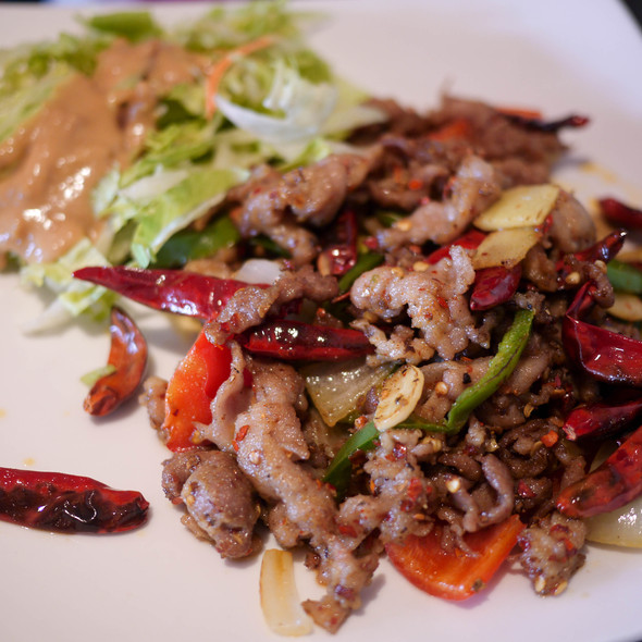 Xinjiang Lamb Rice - Crouching Tiger Restaurant, Redwood City, CA