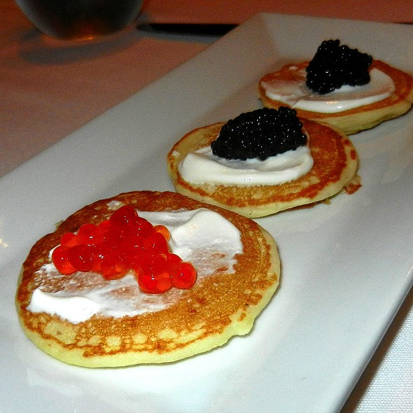 Caviar Blinis - Russian Tea Room - NYC, New York, NY