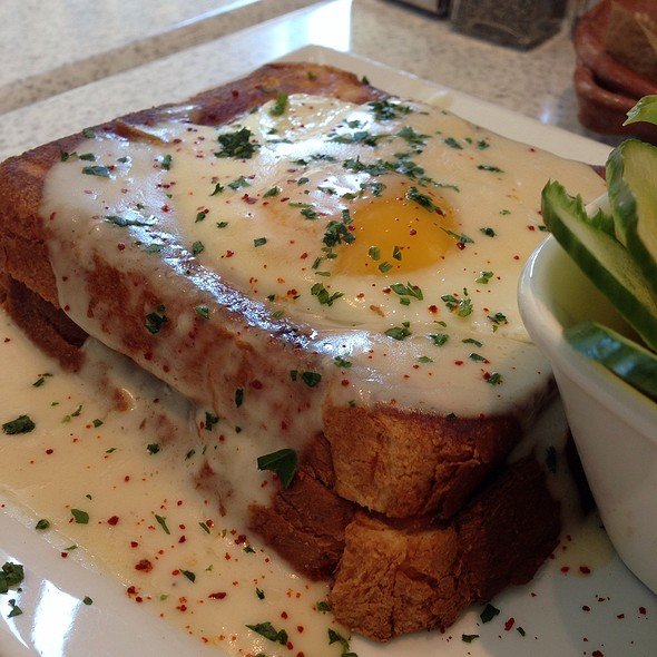 Croque Madame - The Corner Office Restaurant and Martini Bar Denver, Denver, CO