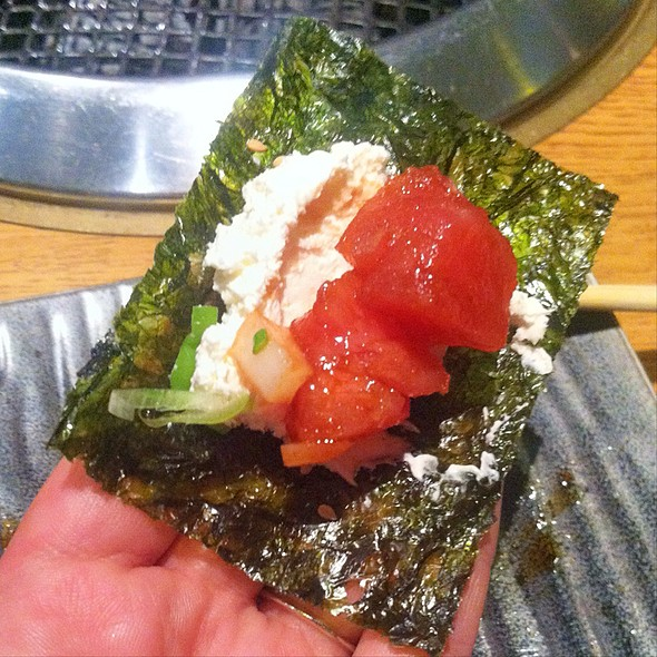 Ahi Poke In Crispy Seaweed - Gyu-Kaku - Sherman Oaks, Sherman Oaks, CA