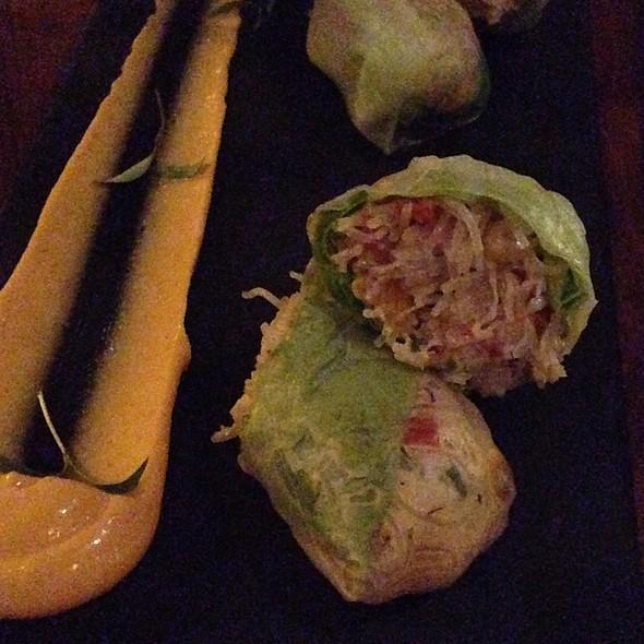 Chili Crab Rolls w\Sriracha Mayo - ChoLon Modern Asian, Denver, CO