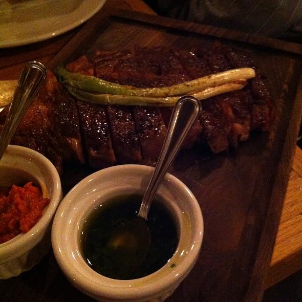 Rib Eye Steak For Two - The Copper Onion, Salt Lake City, UT