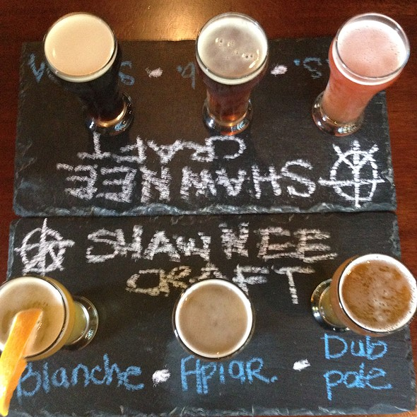 Beer Flight - The Gem and Keystone Brewpub, Shawnee On Delaware, PA