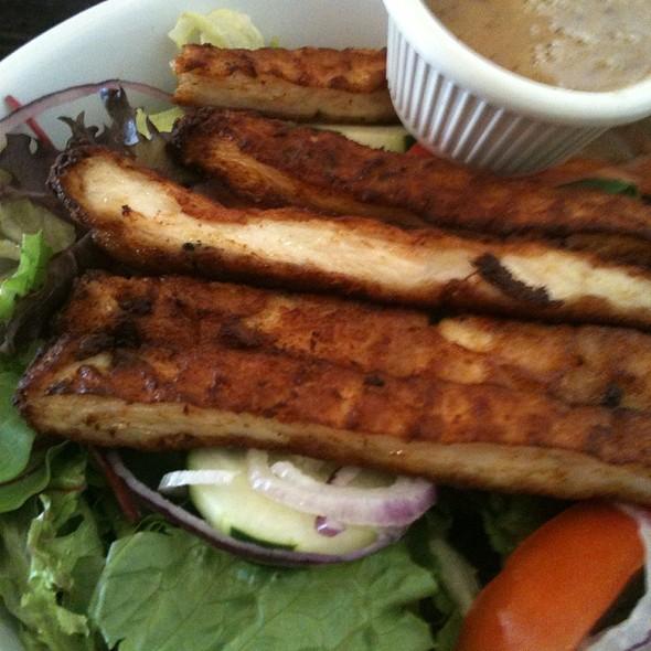 Chicken Milanese Salad - Frank and Dino's, Boca Raton, FL