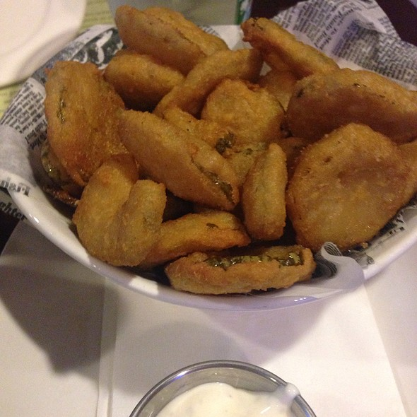 Fried Pickle Chips - Emerald Loop Bar and Grill, Chicago, IL