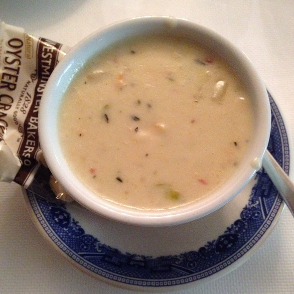 New England Clam Chowder - The Red Lion Inn, Stockbridge, MA