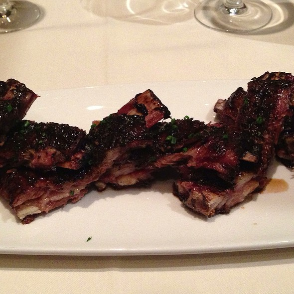 Whiskey Soaked Lamb Ribs - The Rib Room at the Omni Royal Orleans, New Orleans, LA