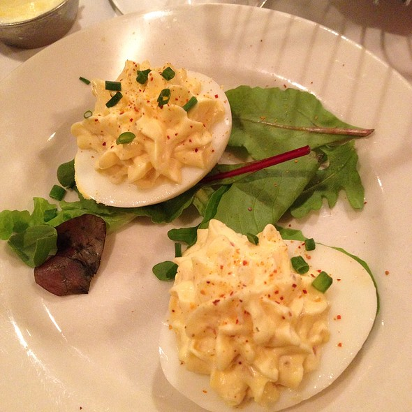 Deviled Eggs - Boulevard 18, New Canaan, CT