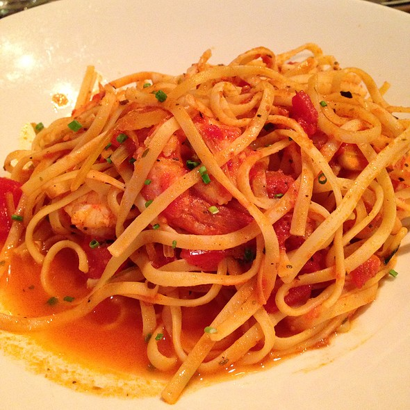 Linguini With Shrimps - London Lennies, Rego Park, NY