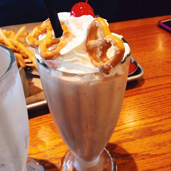 Chocolate Sea Salt Pretzel Milkshake - Burger Jones - Burnsville, Burnsville, MN
