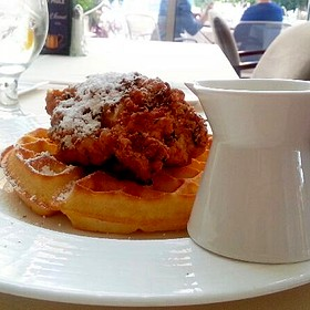 Chicken & Waffles - Museum Cafe, Oklahoma City, OK