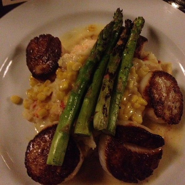 Seared Sea Scallops - Django Restaurant, Des Moines, IA