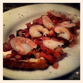 Shrimp Bruschetta - Johnny's Italian Steakhouse - Middleton, Middleton, WI