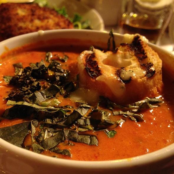 Tomato Basil Bisque - Tavern on Rush, Chicago, IL
