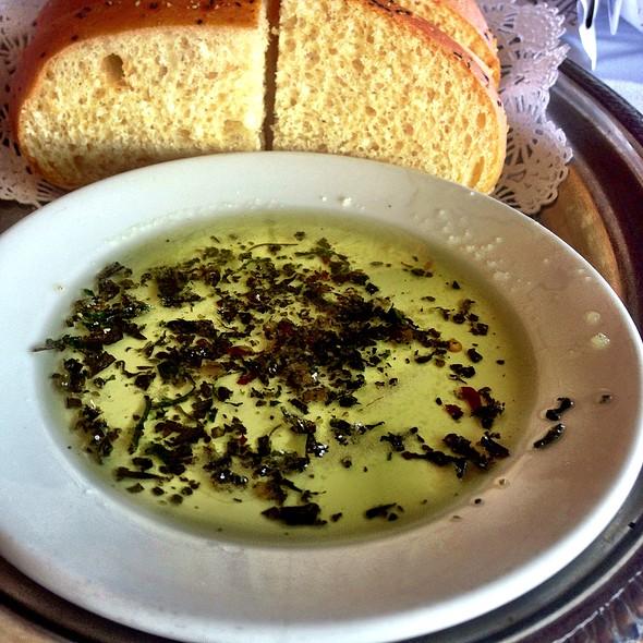 Olive Oil Dip - Gaido's Seafood Restaurant, Galveston, TX