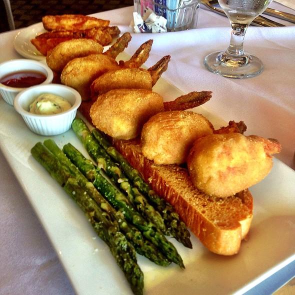 Stuffed Shrimp - Gaido's Seafood Restaurant, Galveston, TX