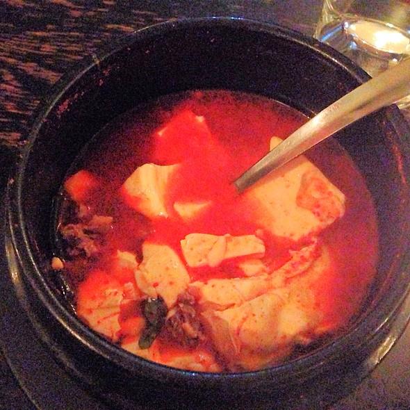 Kimchi and Beef Tofu Soup - Do Hwa, New York, NY