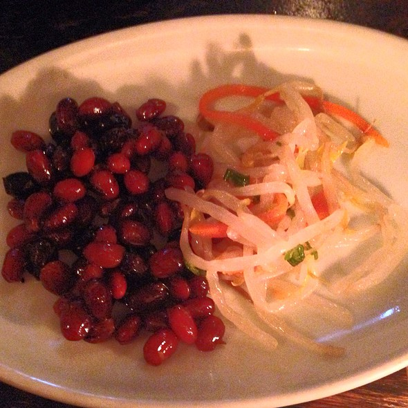Marinated Soybeans And Sprouts - Do Hwa, New York, NY