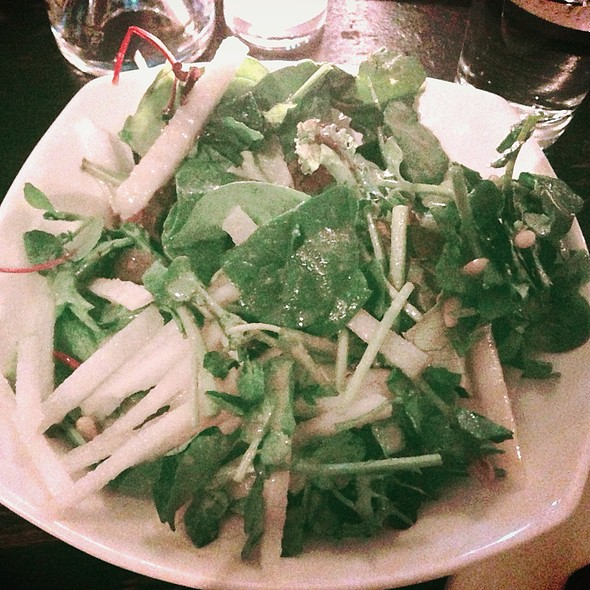Watercress And Pear Salad - Do Hwa, New York, NY