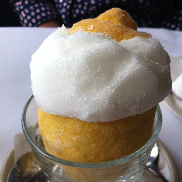 Lemon Sorbet - Das Ethiopian - Georgetown, Washington, DC