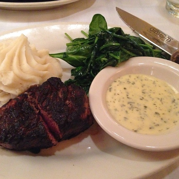Filet Mignon - Gibsons Bar & Steakhouse - Rosemont, Rosemont, IL