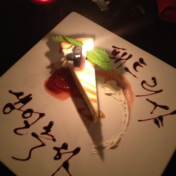 Cheesecake - Sung Korean Bistro, Cincinnati, OH