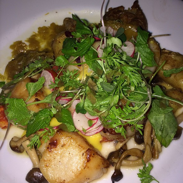 Scallops - Vogue Bistro, Surprise, AZ