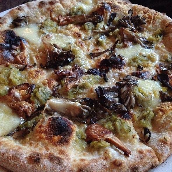 Funghi Pizza - Flour + Water, San Francisco, CA