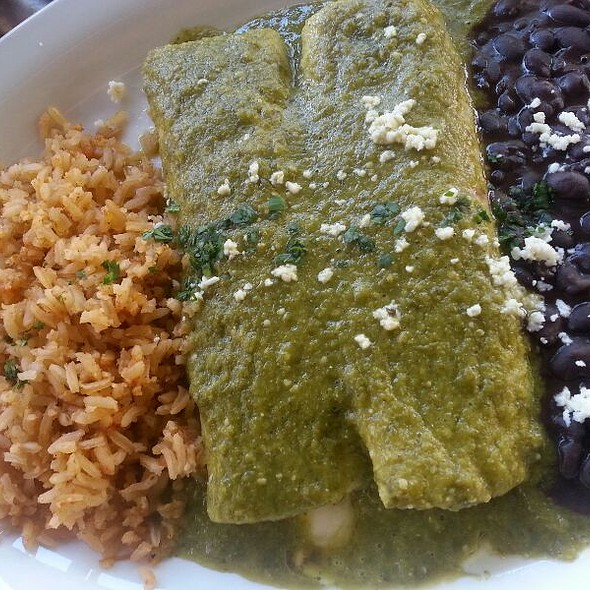 Cheese Enchiladas - Cha Cha's Latin Kitchen, Brea, CA