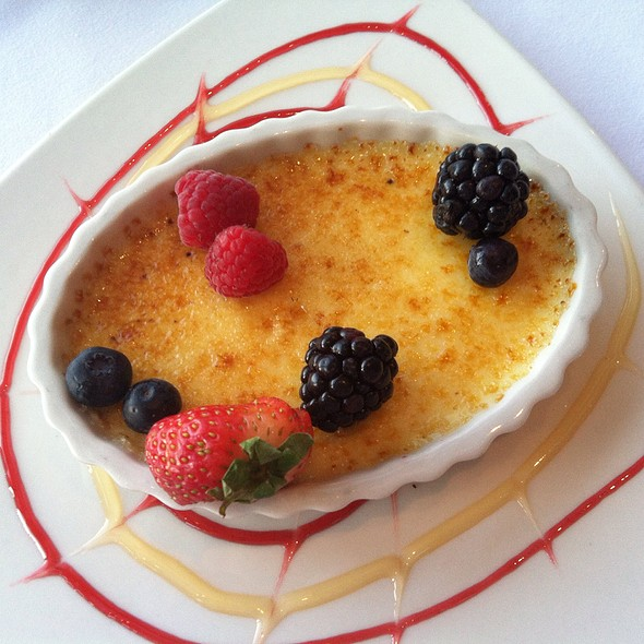 Lavender Creme Brulee - Wendell's - Inn of the Mountain Gods Resort and Casino, Mescalero, NM