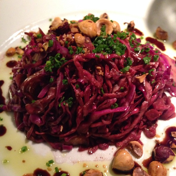 Warm Red Cabbage Salad - Betty, Seattle, WA