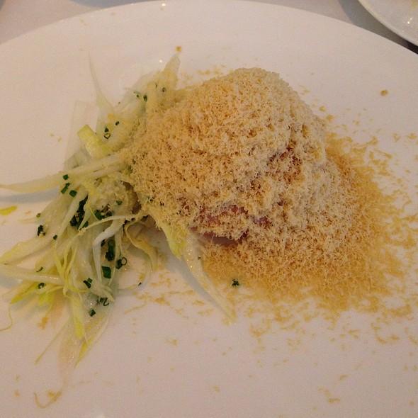 Shaved Foie Gras And Parfait Of Chicken Liver - La Trompette, London