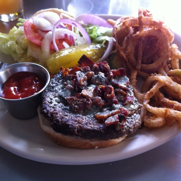 Bacon Blue Cheese Burger - Ranch 616, Austin, TX