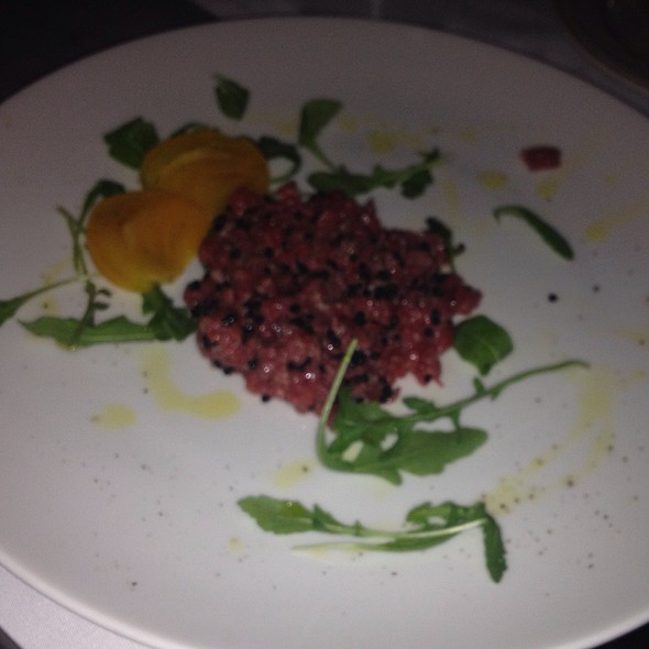 Beef Tartare With Caviar And Truffle Oil - Sfixio, Beverly Hills, CA