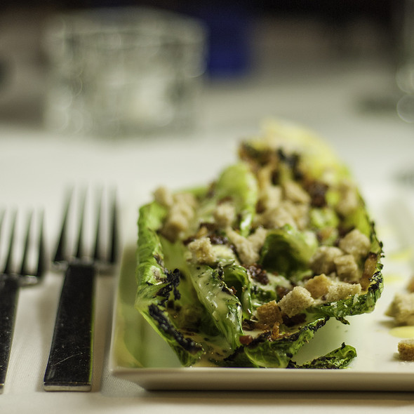 Grilled Romaine Salad - The Blue Star, Colorado Springs, CO