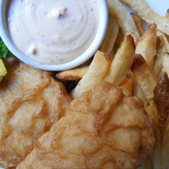 Fish & Chips - Angus' Cafe Bistro, New York, NY