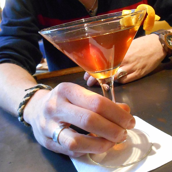 The Bedstone Martini - Angus' Cafe Bistro, New York, NY