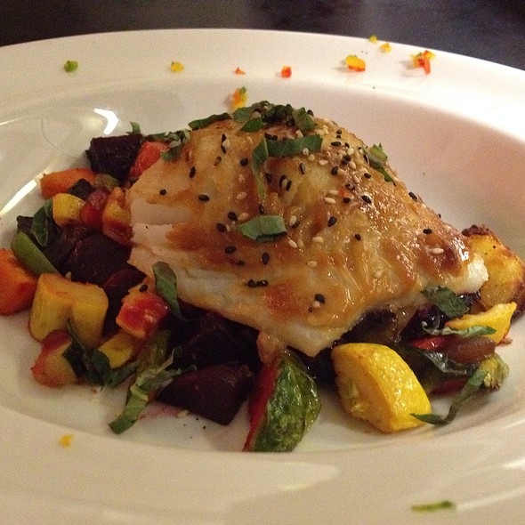 Soy Glazed Cod Over A Roasted Potato And Vegetable Medley - Cafe Fresco - Center City, Harrisburg, PA